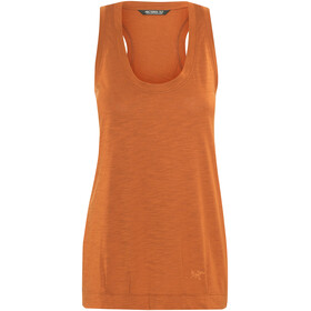 Arc'teryx Pembina Ærmeløs trøje Damer orange